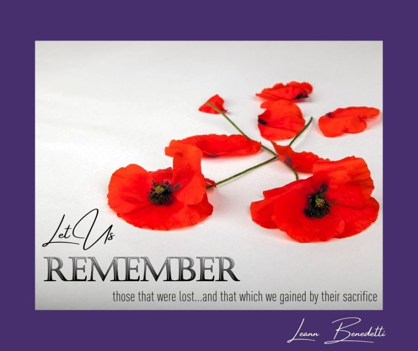 remembering those that have gone before us